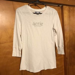 Aerie American Eagle Outfitters Logo Tee Shirt